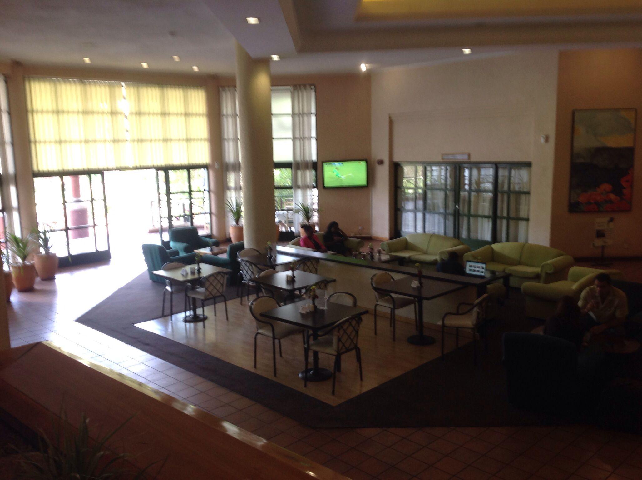 Foyer Entrance Zimbabwe : Cresta lodge lobby harare zimbabwe