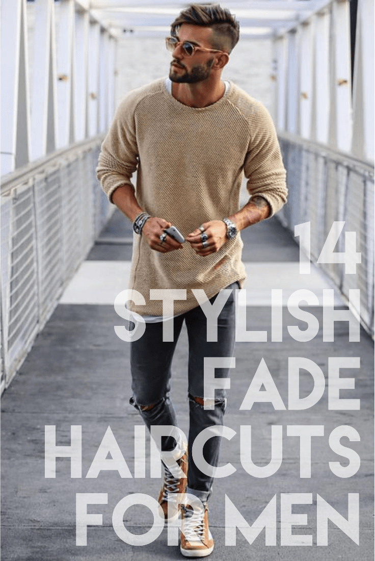 Stylish men haircuts  top fade hairstyles for men that are highly popular in