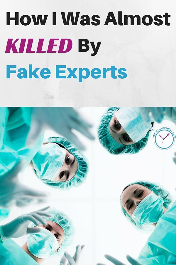 How I Was Almost Killed By Fake Experts, And Which 33 Experts You Should Follow