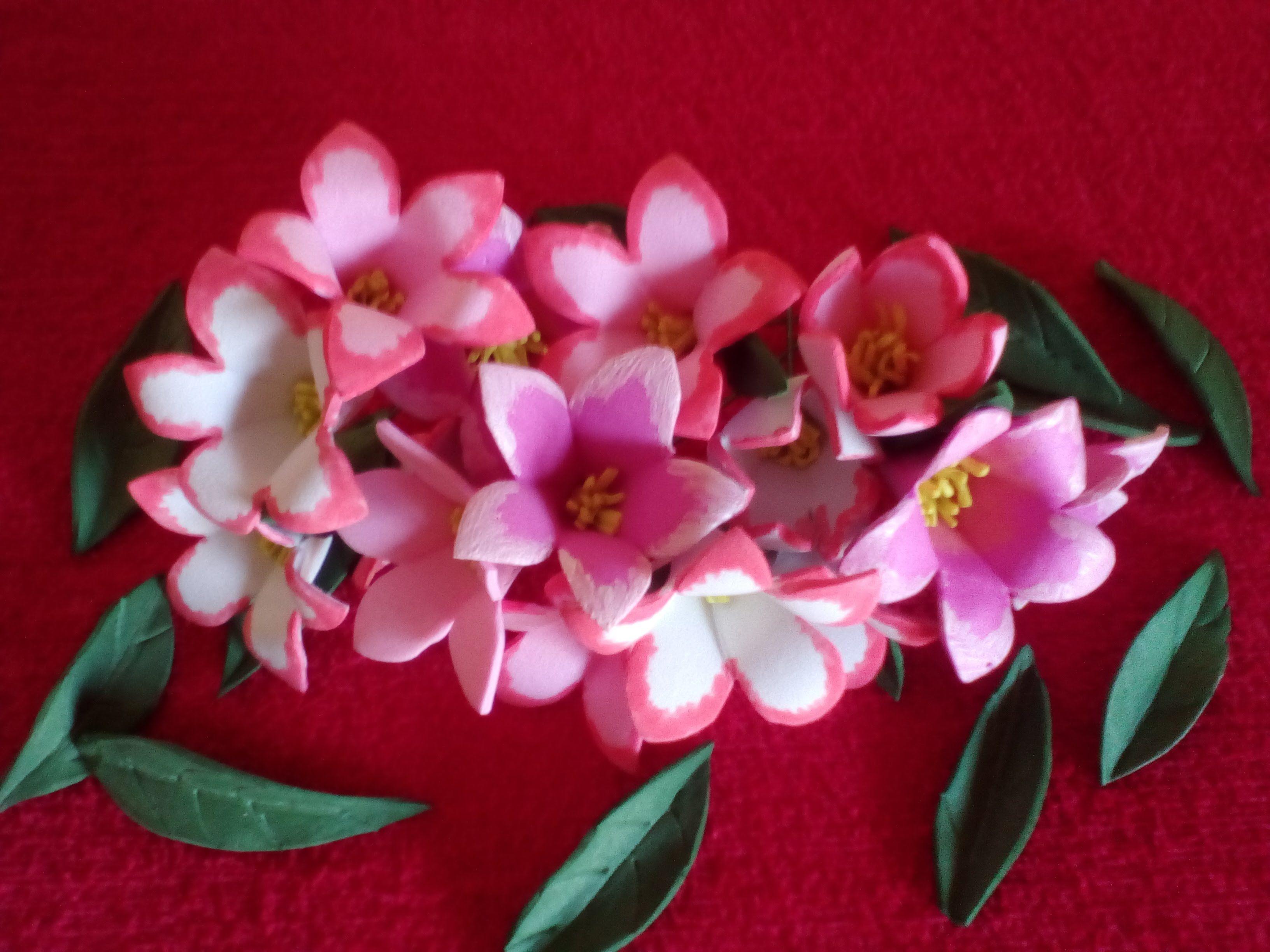 Como Hacer Flores De Goma Eva Super Facil Videos