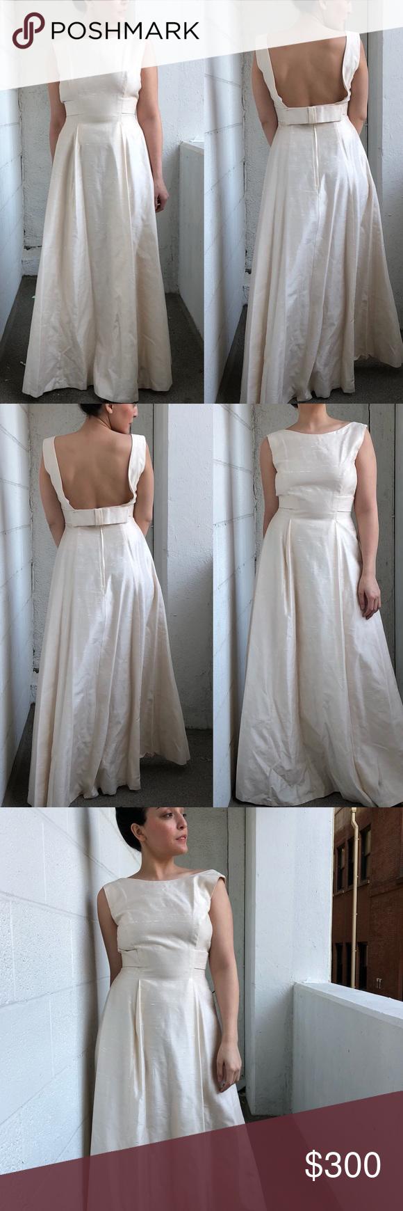 Vintage 1950\'s House of Bianchi Bridal Dress   Vintage dress wedding ...
