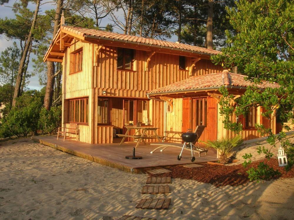MAISON BOIS ET VERRE bassin d arcachon - MCC CONSTRUCTION maison
