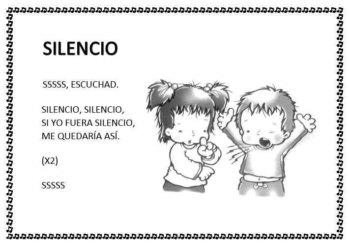 Pin De Gladys Toledo Ortiz En Asamblea El Silencio Y La Atención Cancionero Infantil Poemas Infantiles Canciones Infantiles