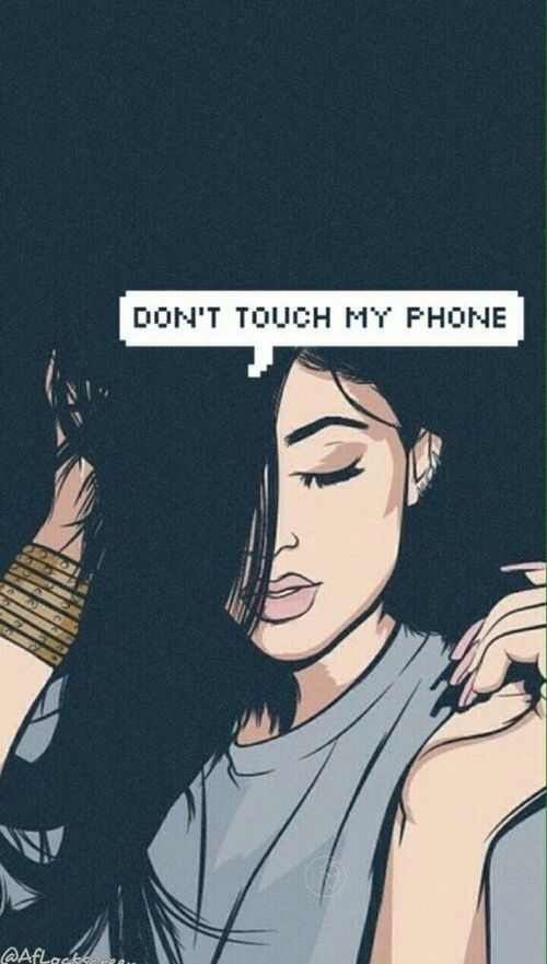 Idea By Aya Abdelraouf On Wallpaper Dont Touch My Phone