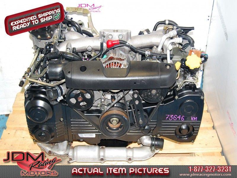 Used subaru wrx ej205 turbo engine, 2002-2005 gd, avcs