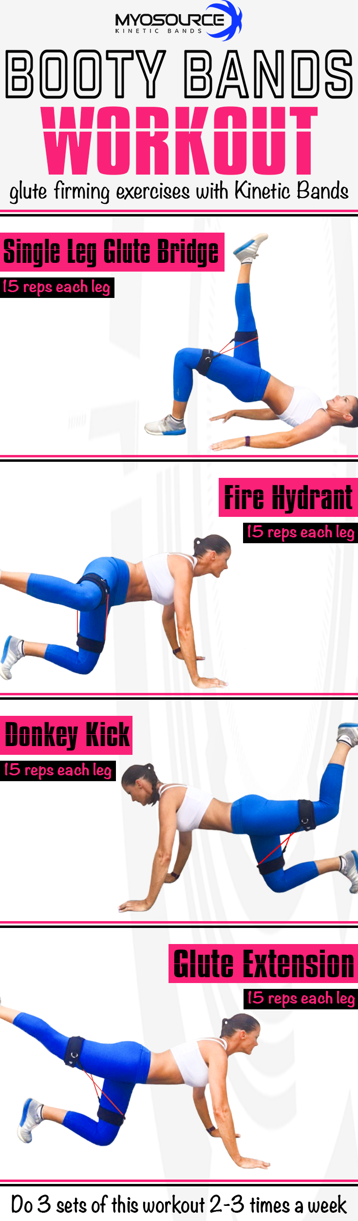 Booty bands fitness workout glute firming exercises with kinetic fitness inspiration try this booty workout with the kinetic bands to build strength in your legs and glutes use coupon code pinit15 for 15 off fitness fandeluxe Images