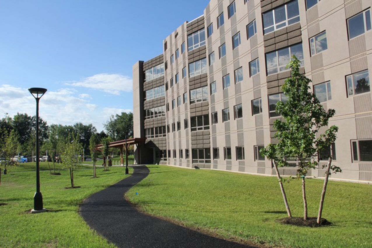 Liberty Terrace Dormitory At Suny Which Achieved Gold Leed