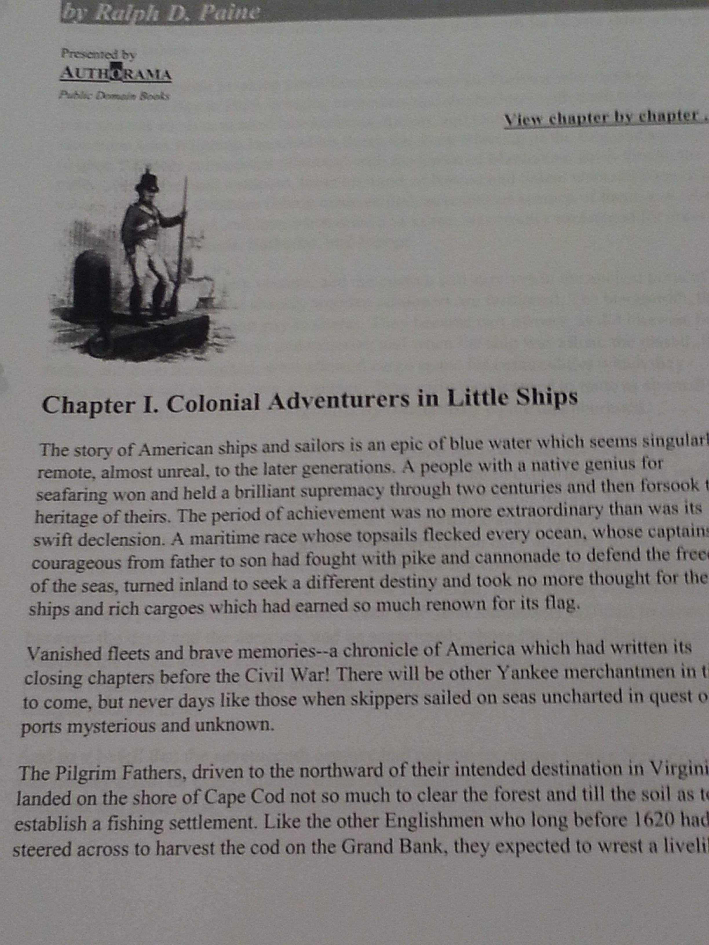 google doc book about the Merchant Marine