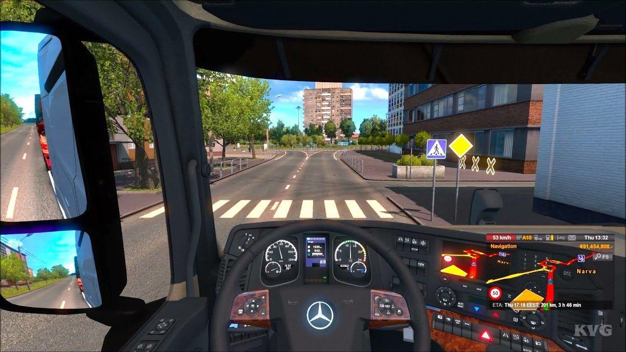 Euro Truck Simulator 2 - Beyond the Baltic Sea - Narva to