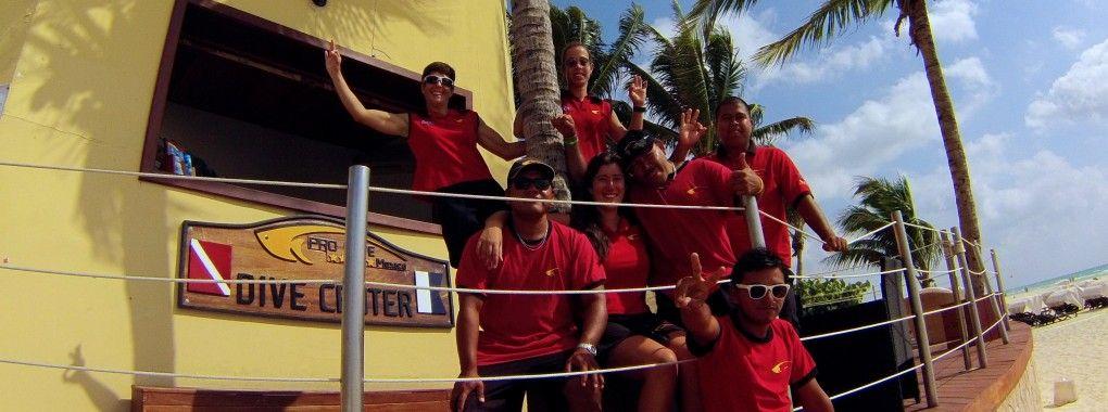 Playa Del Carmen Pro Dive Mexico Playa Del Carmen Playa Diving
