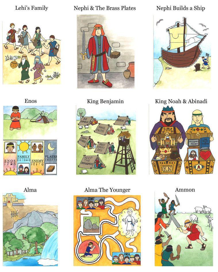 Volume 1: Interactive Book of Mormon for Kids (PDF) | Primaria sud ...