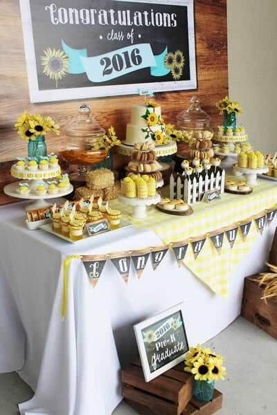 90+ Graduation Party Ideas for High School & College 2019 #graduationparties