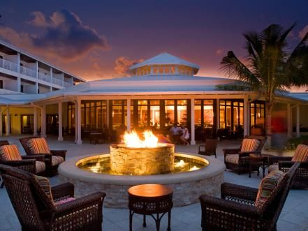 Since its installation, the fire pit at Hawks Cay Resort has become the romantic heart of this Florida Keys vacation spot.