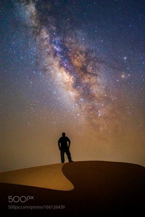 Yes, you can see the Milky Way - Timeline | Milky way, Astrophotography, Rub' al khali
