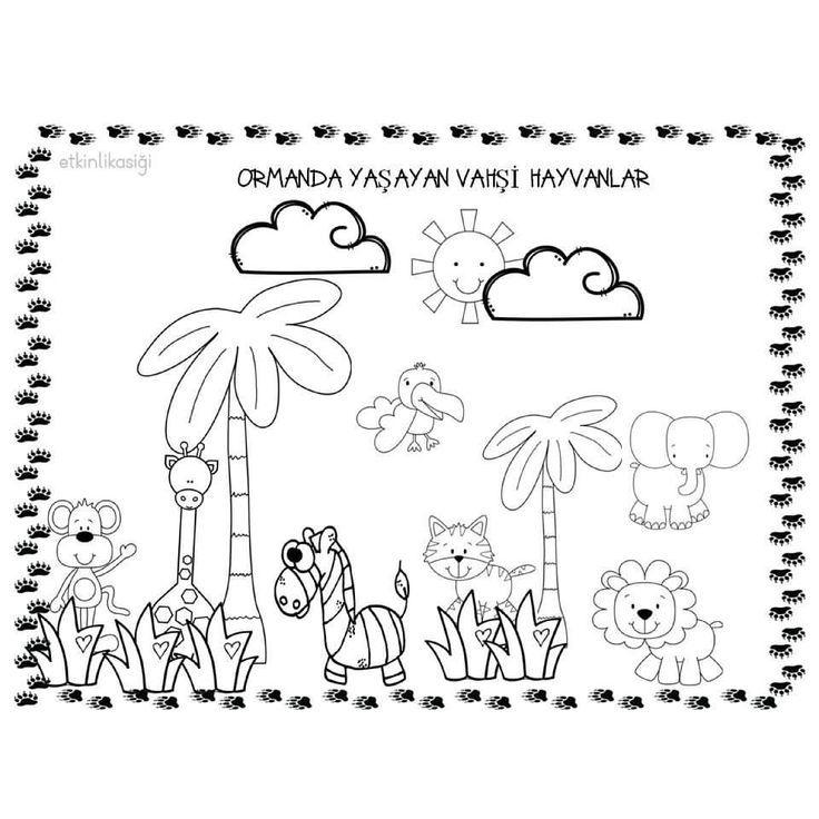 Herkese Iyi Aksamlar Facebook Sayfamizi Begenmeyi Unutmayin Pinterestt Aksamlar Begenmeyi Facebook Herkese Hayvanlar Boyama Sayfalari Okul Oncesi