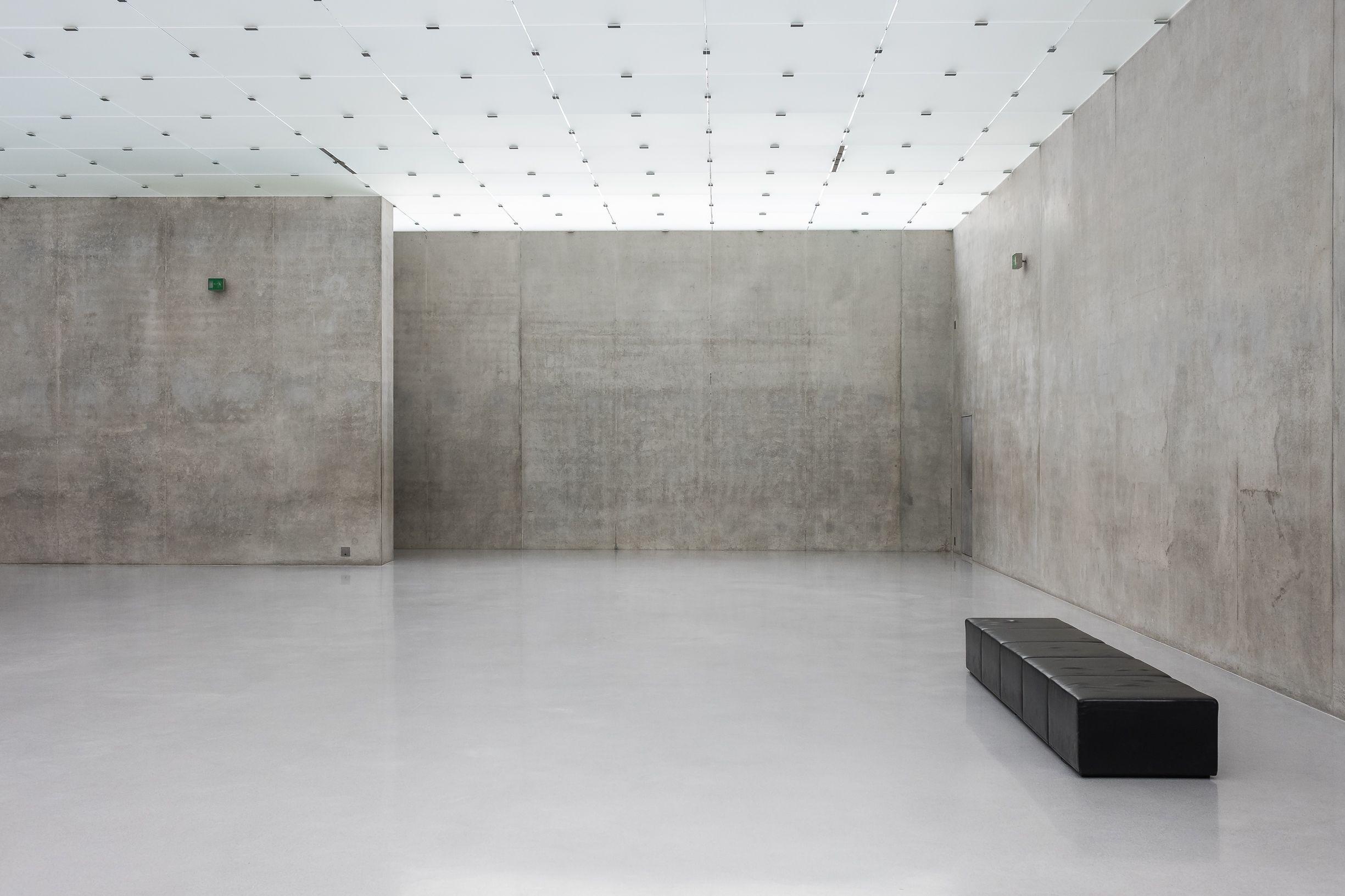 Sichtbetonwande Kunsthaus Bregenz Peter Zumthor Innenwande