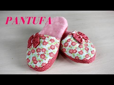 5d288434a8101f Como Fazer Pantufa para o inverno #aprendafazendocomigo - YouTube ...