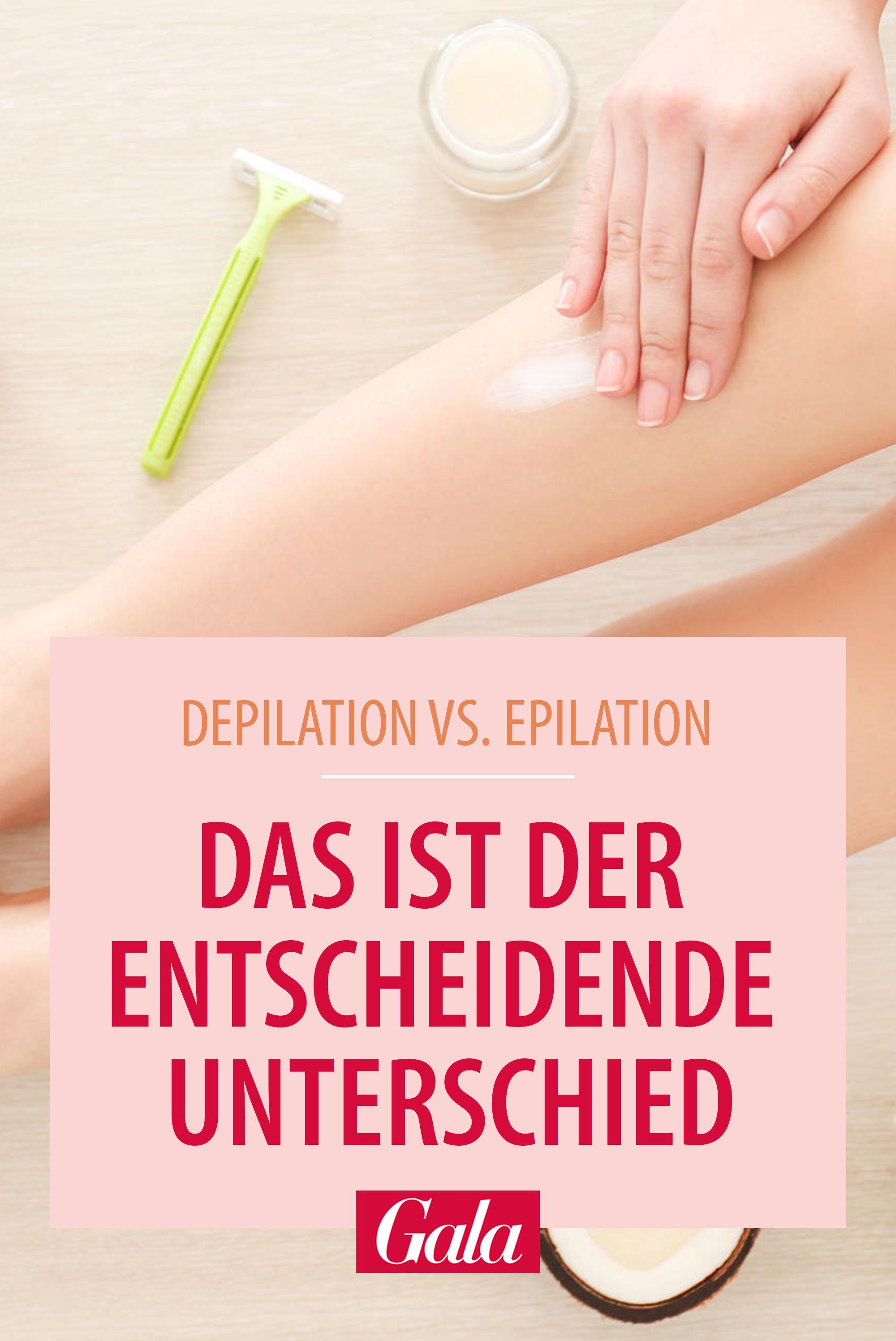 Das Ist Der Entscheidende Unterschied Beauty Tipps Epilieren Schonheitstipps
