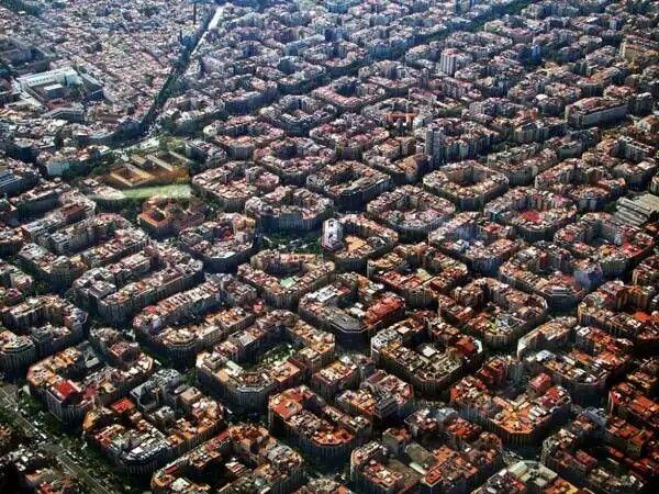 Barcelona Vista Aerea Barcelona Ciudad Imagenes Del Barcelona