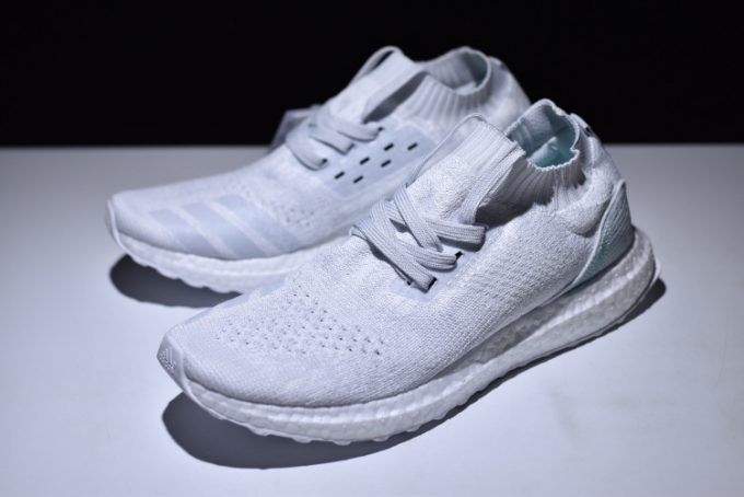aa7a522f7 2018 New Parley x adidas Ultra Boost Mid White Light Blue Online Sale-3