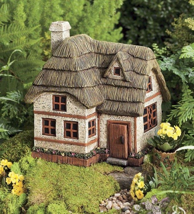 Gnome Garden: Two-Story Fairy Garden Cottage