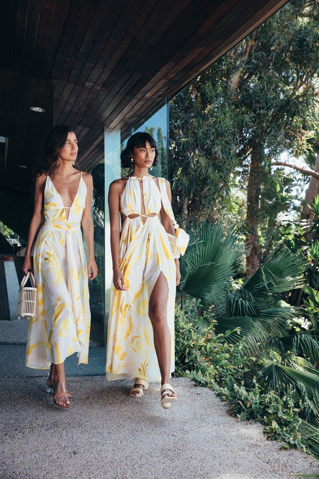 Tropical Summer Dresses Beachwear Fashion Fashion Summer Dresses [ 1536 x 1024 Pixel ]