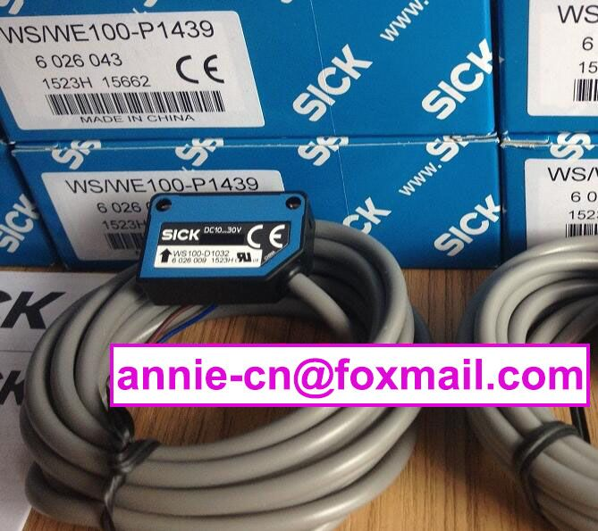 ws/we100-p1439(is ws100-d1032+we100-p1432) new and original sick  photoelectric switch, photoelectric sensor
