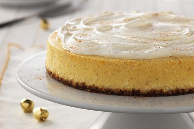 Classic Eggnog Cheesecake #eggnogcheesecake Classic Eggnog Cheesecake #eggnogcheesecake