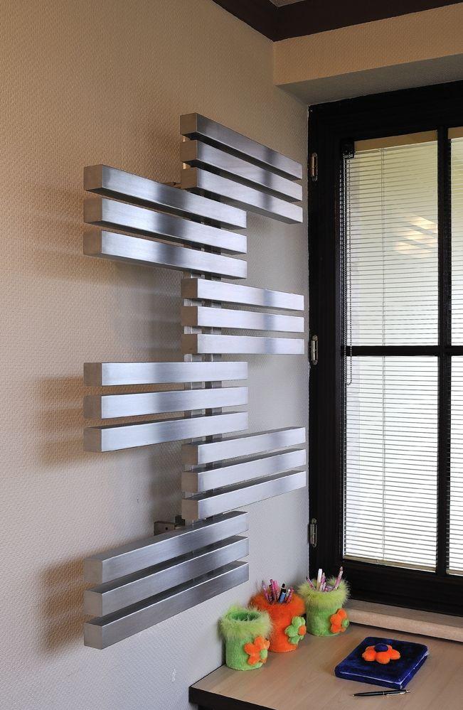 Roestvaststalen (rvs) radiator met een eigenwijze uitstraling ...