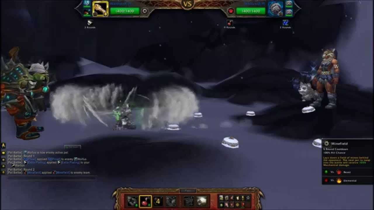 How To Power Level Pets Lvl 1 25 In 3 Pet Battles Wod Pet Trainers Warcraft Pets Pet Trainer Pets