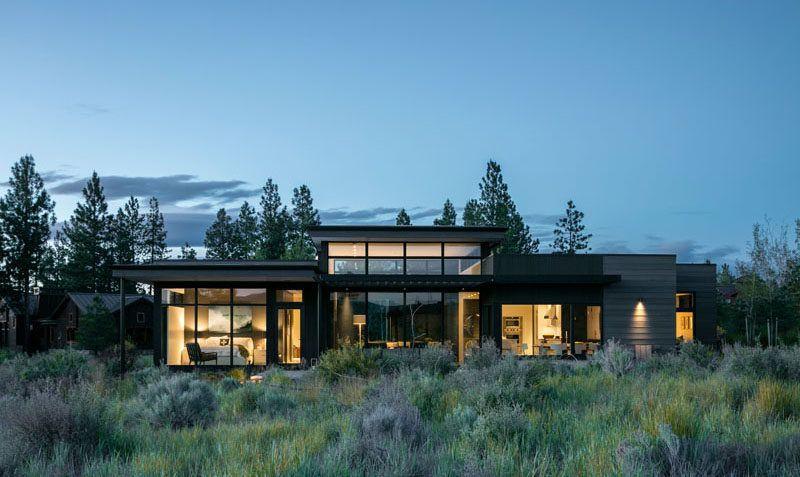 High Desert Modern By Deforest Architects Architecture