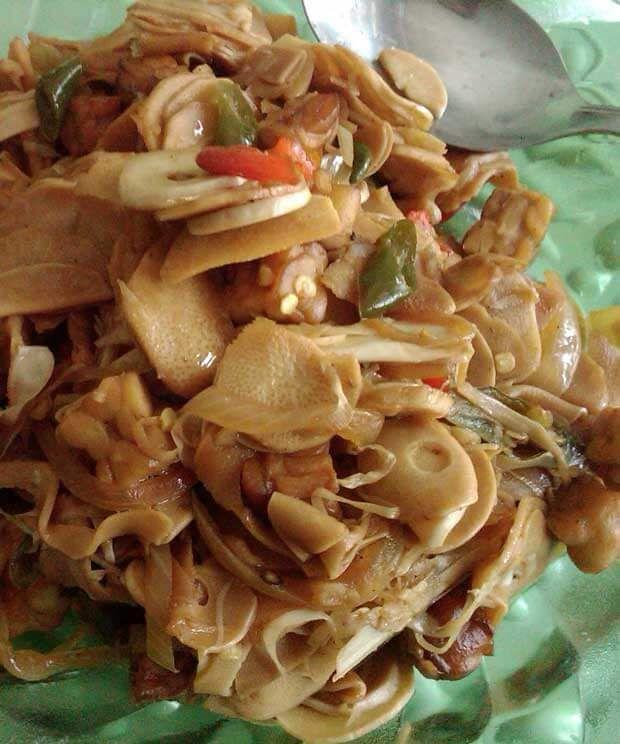 Resep Tumis Rebung Bumbu Padang Resepkoki Co Makanan Dan Minuman Ide Makanan Resep Simpel