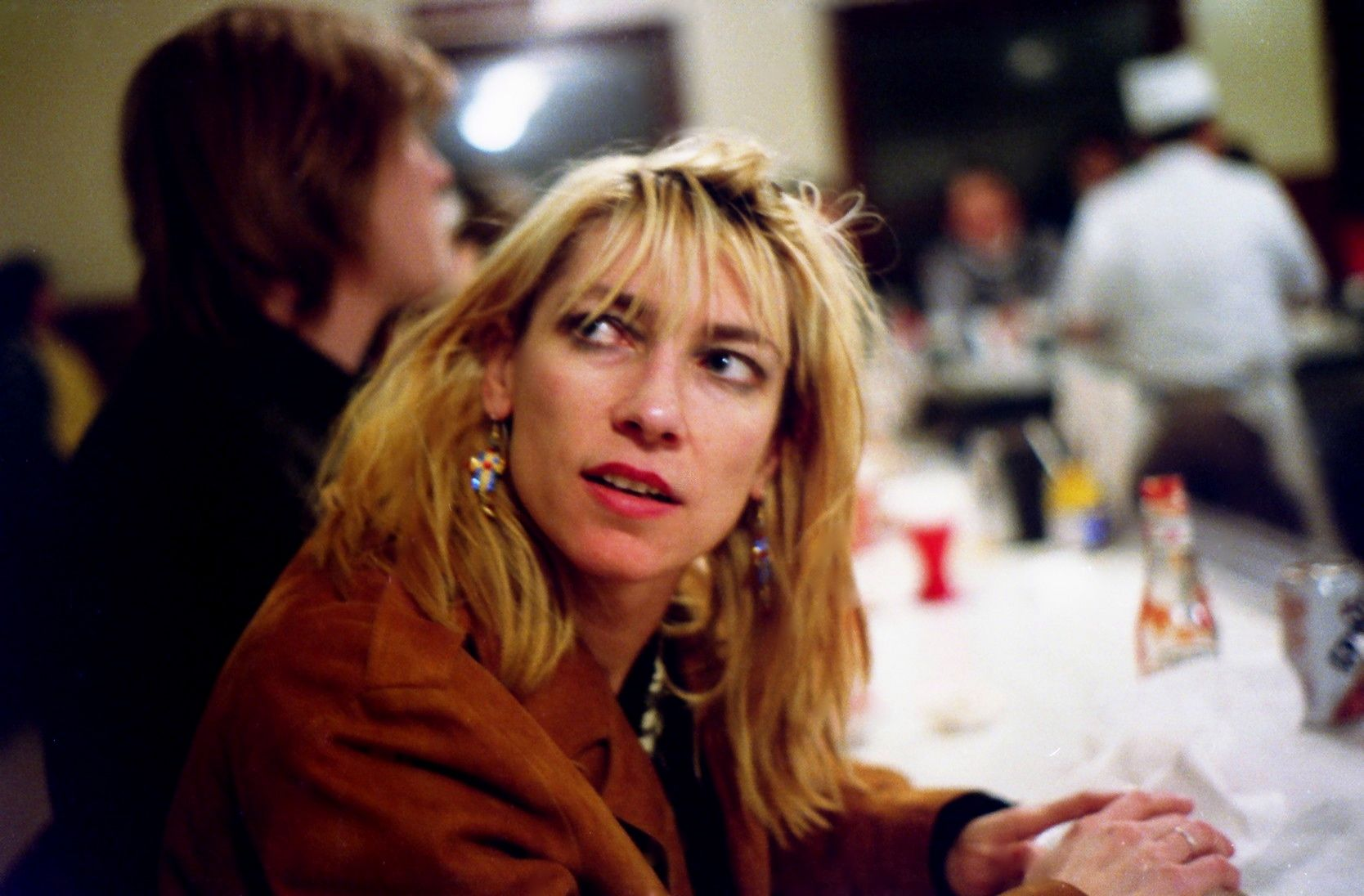 Anyone becomes mannered if you think too much about what other people think. -Kim Gordon