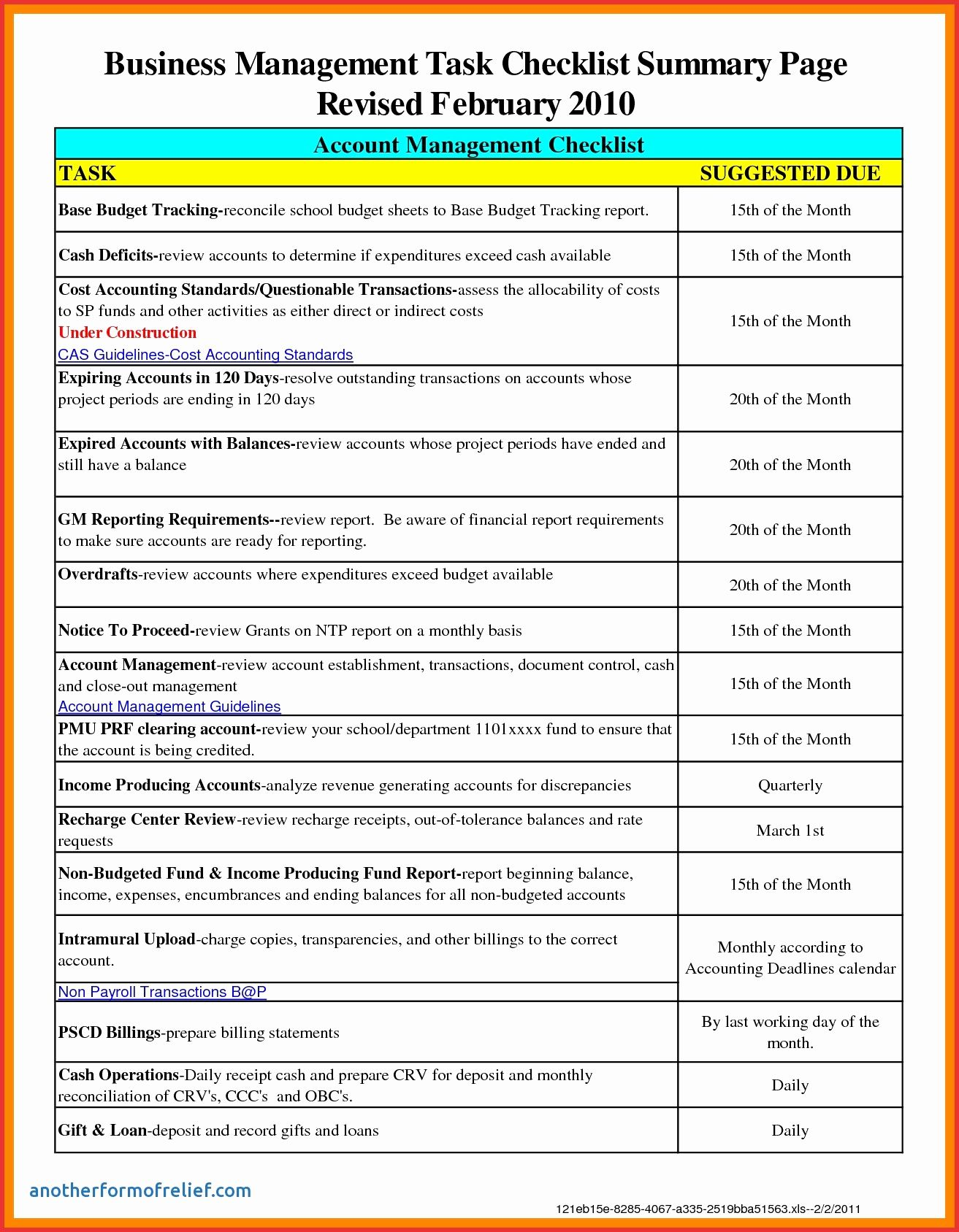 Electronic Checklist Template Lovely 26 Of Month End News To Go 2