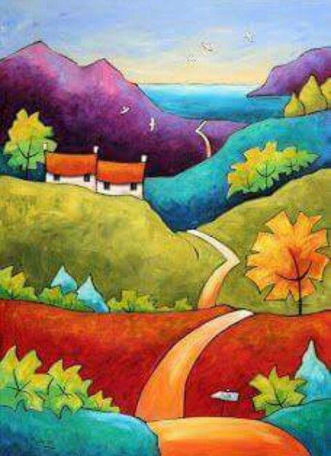 épinglé Par Catherine Mahéo Sur Art Pinterest Peinture