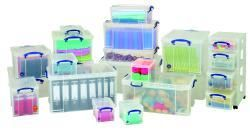 Die Really Useful Boxes sind individuell einsetzbar in Haushalt, Büro, Gewerbe und mehr.