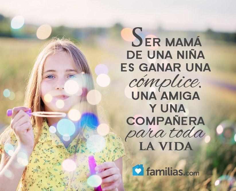 Ser mamá de una niña es ganar una amiga para toda la vida