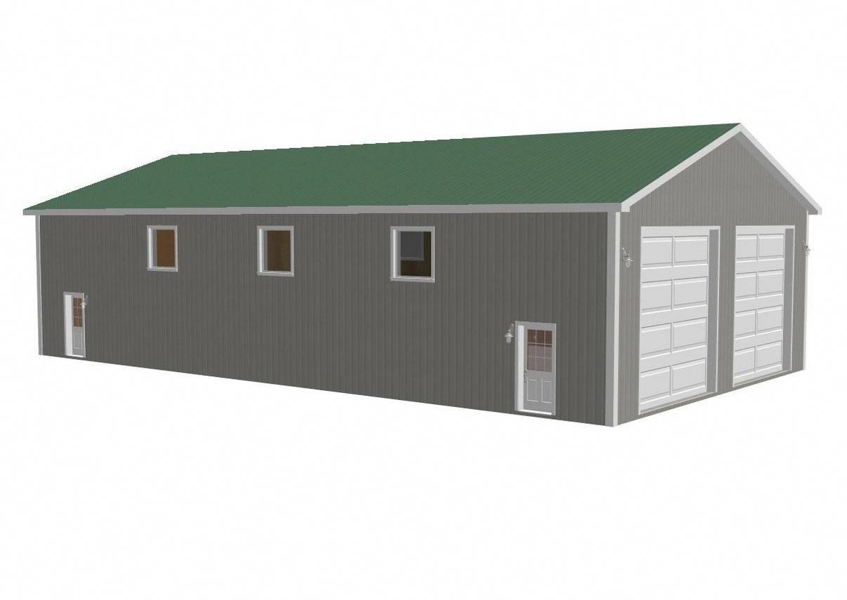 Pics Of Common Commercial Metal Buildings Metalbuildings Homes Garage Plans With Loft Metal Buildings House Blueprints