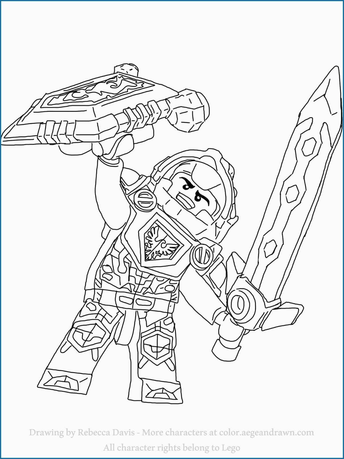 nexo knights coloring pages  googlehaku  coloring pages