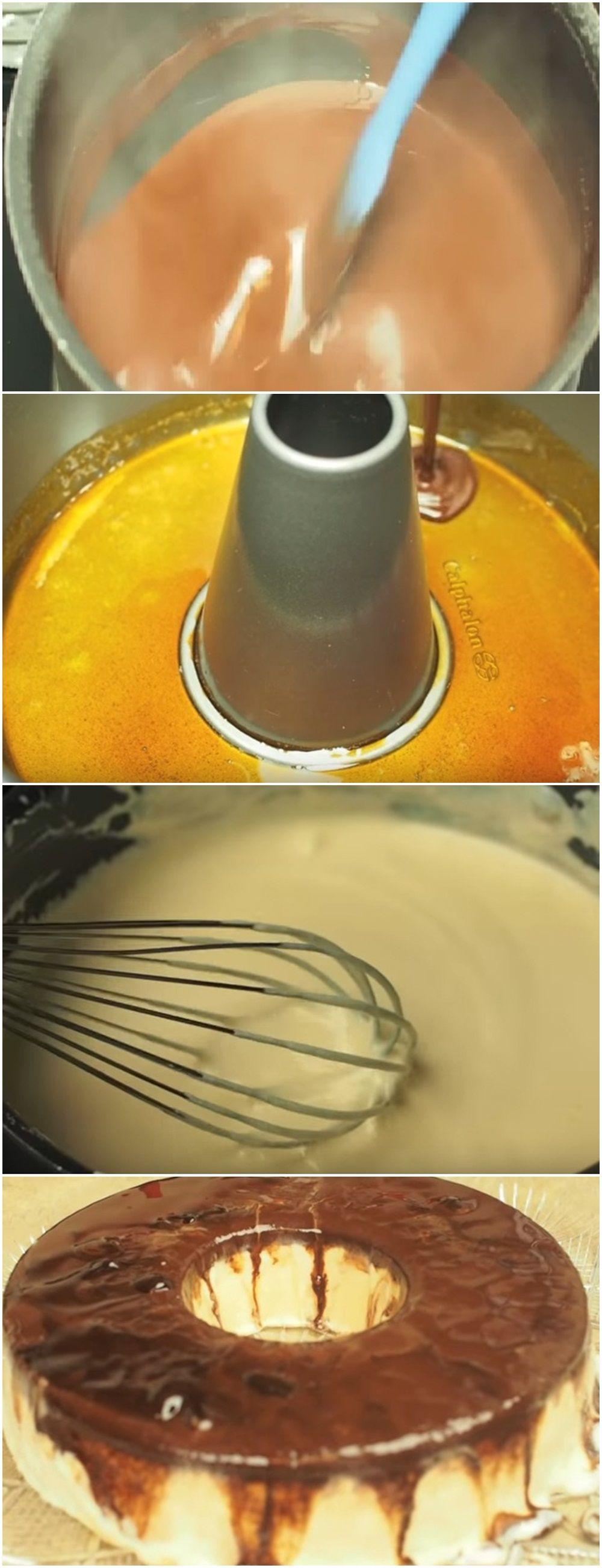 Torta De Sorvete De Leite Ninho E Nutella Voce Merece Uma Fatia