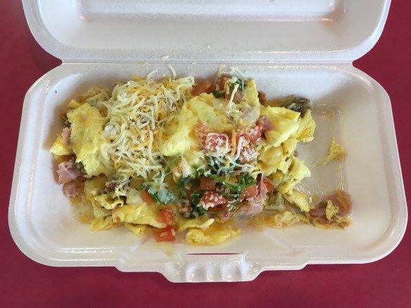 Low Carb Carls Jr Loaded Breakfast Burrito Keto fast