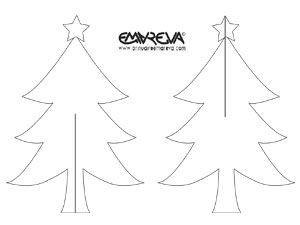 Modèle à Découper Pour Créer Le Croisillon De La Carte Noël