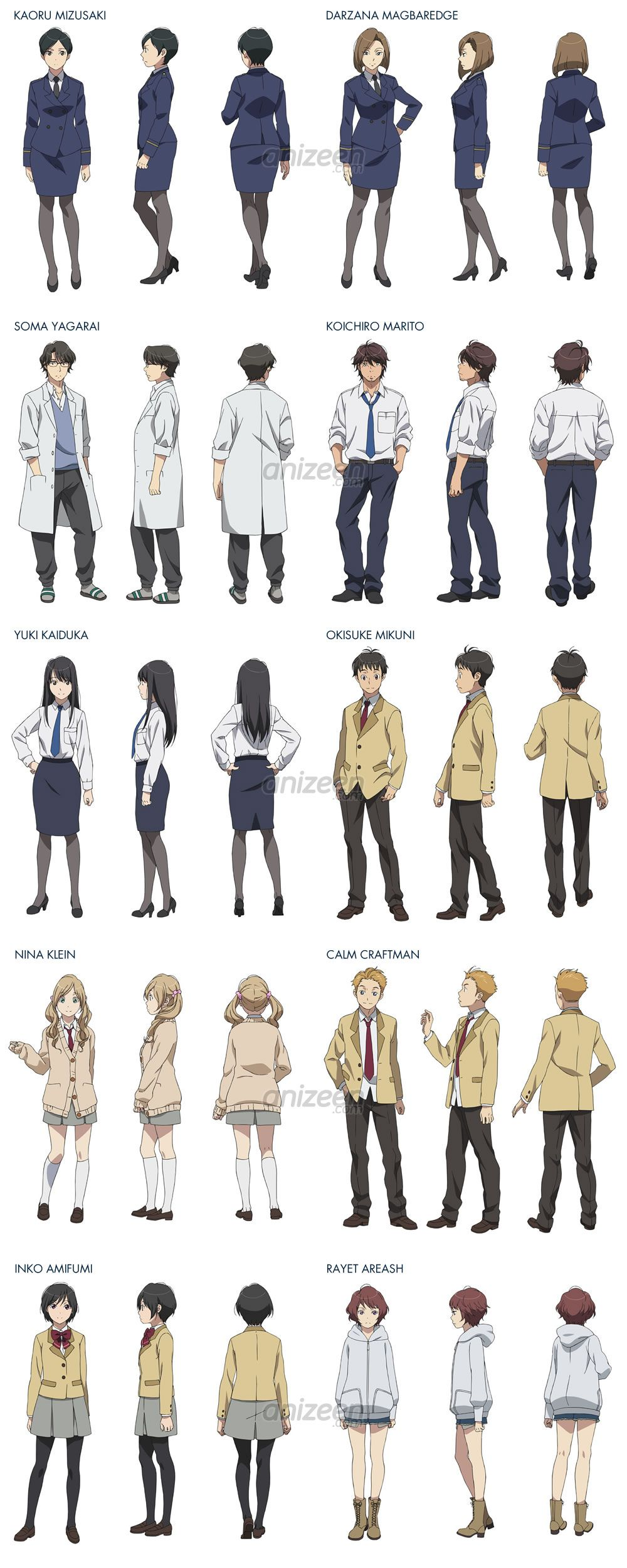 Characters in the Aldnoah.Zero 2014summer anime