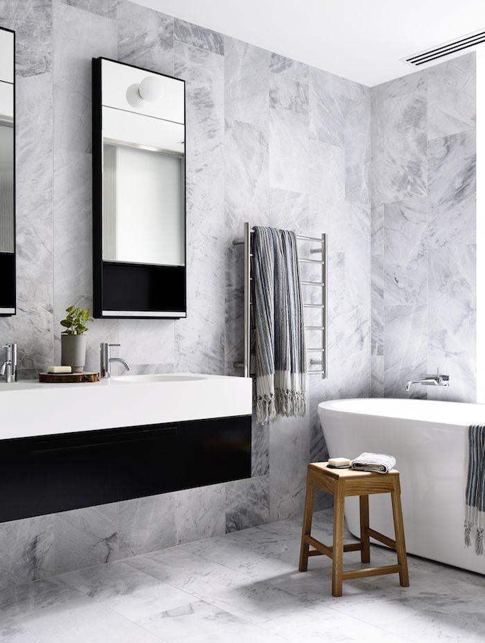 5 Bathroom Designs In Black White Grey Debra Dustjacket