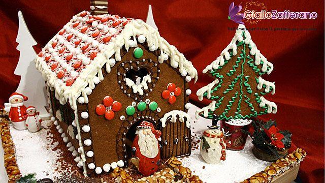 Casetta Di Natale Con Biscotti : Casetta di pan di spezie ricetta gingerbread