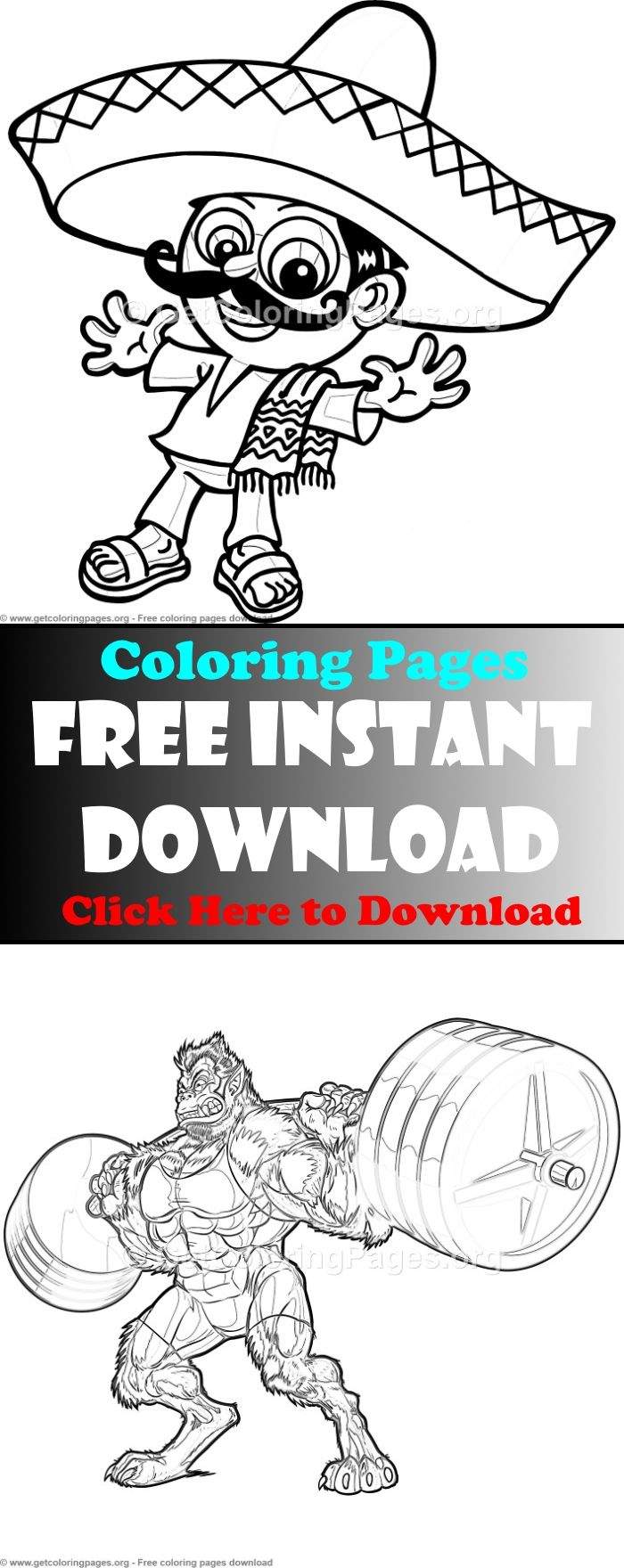 Nice Mexican Food Coloring Pages Frieze - Coloring Paper ...