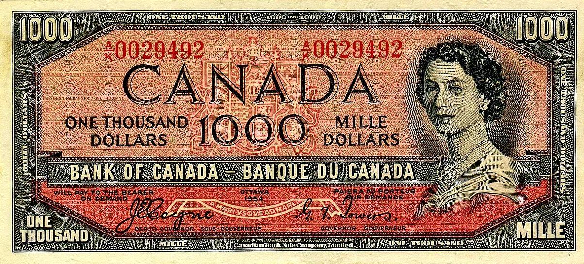 Pin By Diamond K Karma On Toronto I Love You Thousand Dollar Bill Canadian Money Dollar
