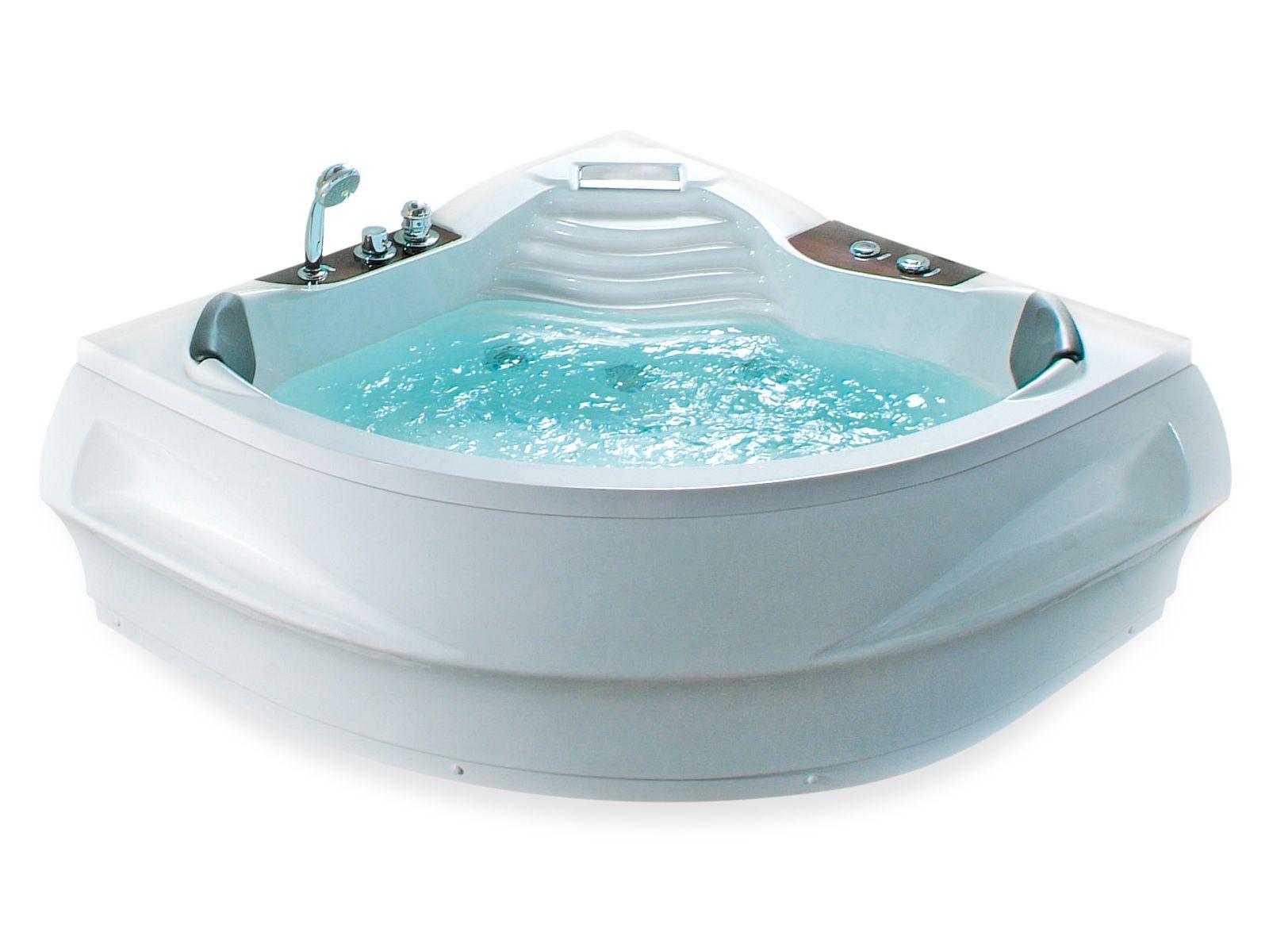 Whirlpool-Badewanne Eckmodell MONACO | Jacuzzi, Monaco and House
