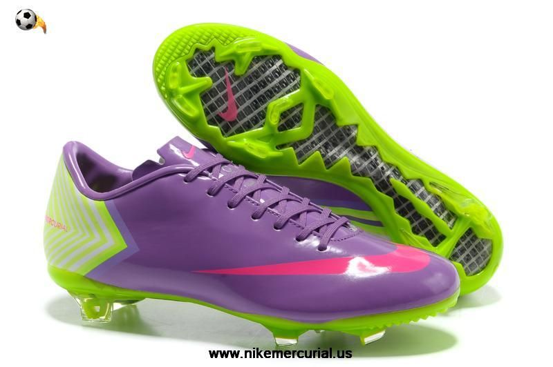 finest selection 510b4 47584 Cheap Nike Mercurial 10 - Nike Mercurial Vapor X FG Purple Green Pink For  Sale