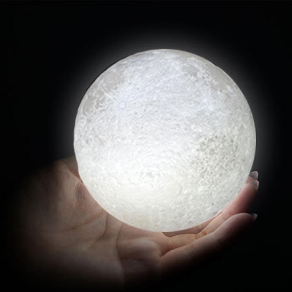 Fall In Love With The Moon The Unreachable The Impossible The Unimaginable This Moon Night Lamp Can Recreate What S Night Light Moon Light Lamp Night Lamps